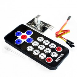 Kit control y receptor IR