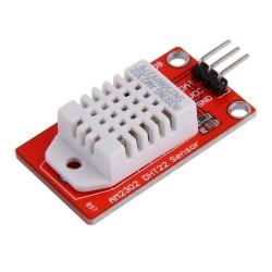 Sensor DHT22 en tarjeta