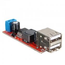 Fuente DC-DC Regulador 5V Doble Salida