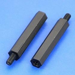 Separador de nylon Macho-Hembra 20mm