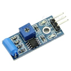 Sensor de vibración y movimiento