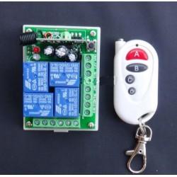 Interruptor de control remoto 4 canales