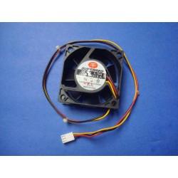 Ventilador de ensamble 12V de 6x6x2,5cm