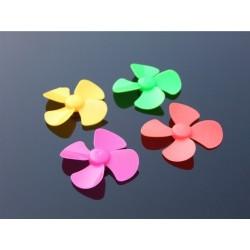 Aspa plastica espiral de colores 8cm