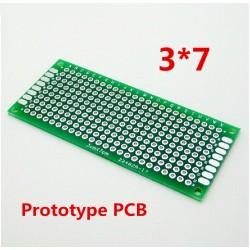 Circuito Impreso Fibra de Vidrio 3x7