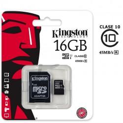 Memoria MicroSD 16Gb Clase 10