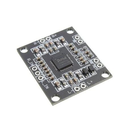 Amplificador de audio 2x10W PAM8610