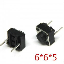 Pulsador 2-Pin 6x6x5mm