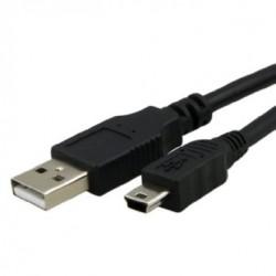 Cable USB a mini USB 5 pines