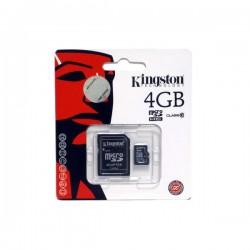 Memoria MicroSD 4Gb Clase 4
