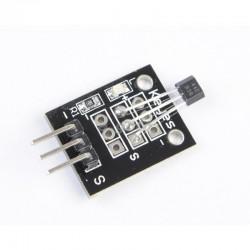 Sensor hall en tarjeta