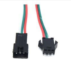 Conectores Aéreos con Cable 3 PIN