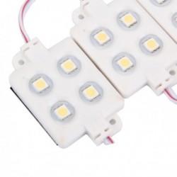 Modulo 4 led 5050 12V blanco