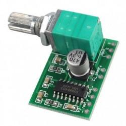 Amplificador de audio PAM8403 con control de volumen