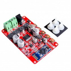 Amplificador de audio estéreo clase D 2x50w con bluetooth