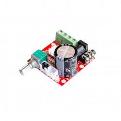 Amplificador de audio stereo clase D 2x10w