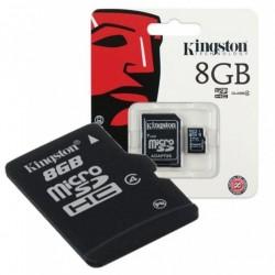 Memoria MicroSD 8Gb Clase 4