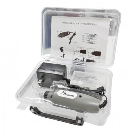 portabrocas de 3//8 pulgadas Bater/ía de Litio 2 X 2000mA 1 ajuste de torsi/ón Destornillador El/éctrico 18 MKODDE Taladro Inal/ámbrico,12 V,2 velocidades variables luz de Trabajo LED