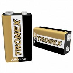 Pila 9V Alcalina Tronex