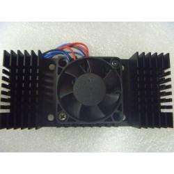 Ventilador de ensamble 12V de 4x4x1cm con disipador