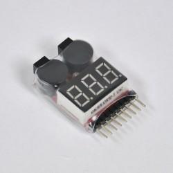 Tester para baterias LI-PO