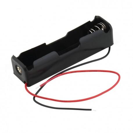 Porta pila para batería 18650 x1