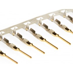 Pin metalico macho para carcasa de conexión