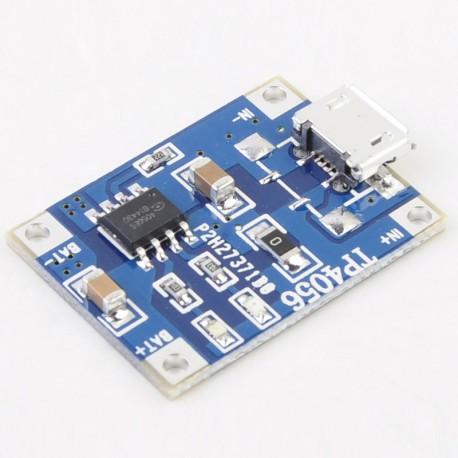Cargador baterías LI-ION