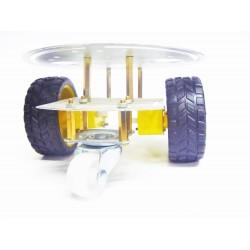 Plataforma Chassis circular 2WD metalica