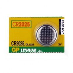Pila CR2025  tipo moneda