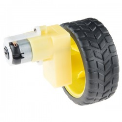 Kit motorreductor en L con rueda